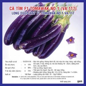 Hạt giống cà tím Tomawak No.1